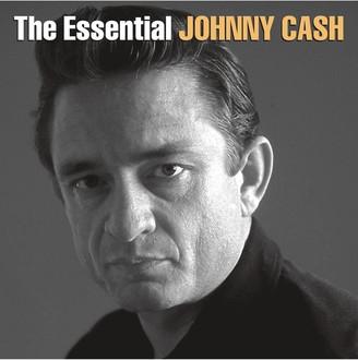 Alliance Entertainment Johnny Cash 'The Essential Johnny Cash' Double LP Vinyl Record