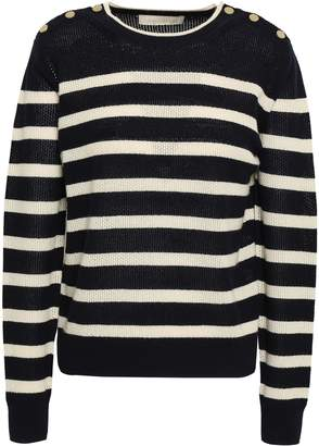 Vanessa Bruno Striped Wool And Cashmere-blend Sweater