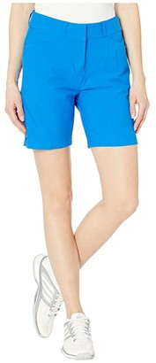 adidas 7 Shorts (Glory Blue) Women's Shorts
