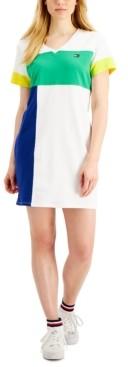 Tommy Hilfiger Colorblocked T-Shirt Dress