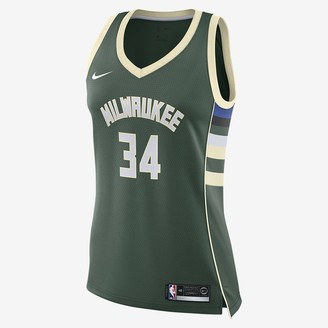 Nike Women's NBA Swingman Jersey Giannis Antetokounmpo Bucks Icon Edition