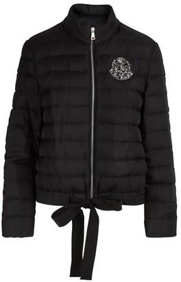 Moncler Prince silk down jacket