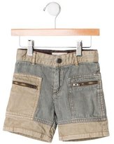 Stella McCartney Girls' Patterned Denim Shorts