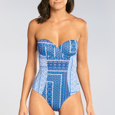 OndadeMar Turquish Structured One Piece