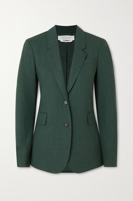 Gabriela Hearst Sophie Wool Blazer - Dark green