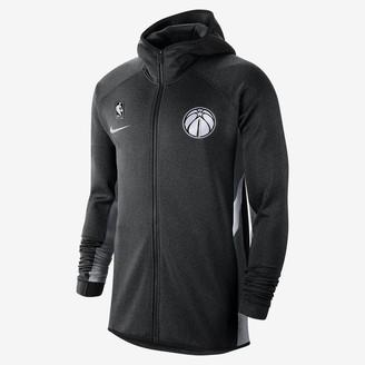 Nike Mens NBA Hoodie Washington Wizards Therma Flex Showtime