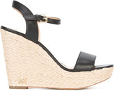MICHAEL Michael Kors wedge sandals - women - Leather - 5.5