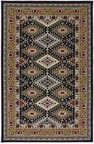 Karastan Crossroads Addison 8-Foot x 10-Foot Rug in Black