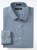 Banana Republic Camden-fit Cotton Stretch Non-iron Dot Check Shirt