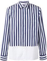 Marni striped poplin shirt - men - Cotton - 46