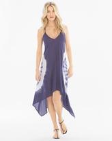 Soma Intimates Scarf Hem Coverup Dress Blue