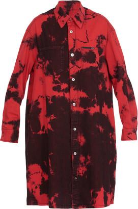 McQ Cotton Chemisier Dress