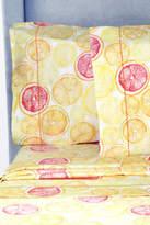 Melange Home Lemon Lime Pillowcase Pair - Orange/Yellow