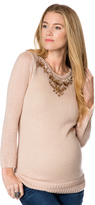 A Pea in the Pod Design History Embellished Maternity Sweater