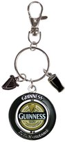 Guinness Pvc Spinner Label Keychain