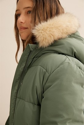 Country Road Teen Fur Trim Parka