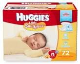 Huggies Little Snugglers 72-Count Newborn Big Pack Diapers