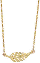 Jennifer Meyer Women's Leaf Pendant Necklace