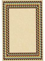 Nobrand No Brand Braid Border Rug