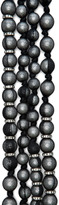 Lanvin 10 Year Anniversary Pearl Necklace in Black