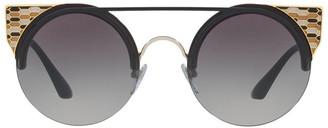 Bvlgari BV6088 404422 Sunglasses Black