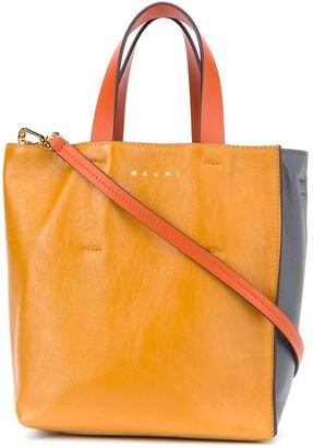 Marni Two-Tone Tote Bag