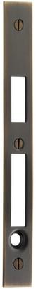 Rejuvenation Pocket Door Faceplate for Privacy Mortise