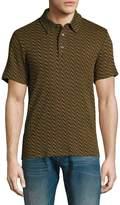 Trina Turk Men's Lance Cotton Polo Shirt
