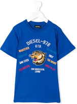 Diesel Tavi T-shirt - kids - Cotton - 12 yrs