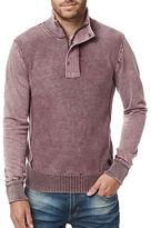 Buffalo David Bitton Walmock Quarter-Zip Sweater