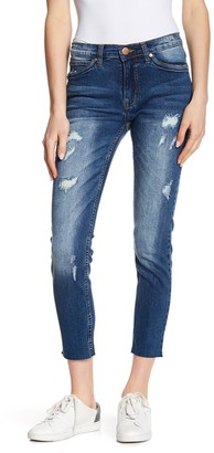 SUPPLIES BY UNION BAY Hart Distressed Cropped Skinny Jeans