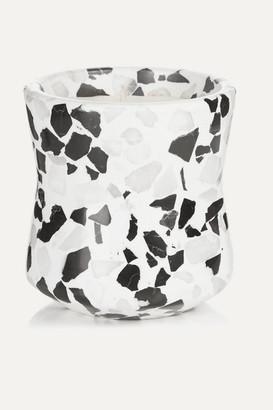 Tom Dixon Terrazzo Medium Scented Candle - White