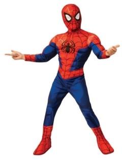 BuySeasons Spider-Man: Into the Spider-Verse Big Boy Peter Parker Spider Man Costume