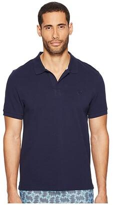 Vilebrequin Pique Polo (Navy/White) Men's Clothing