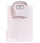 Thomas Pink Goodall Check Classic Fit Button Cuff Shirt