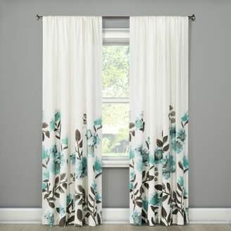Threshold Climbing Floral Window Curtain Panel