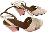 Sonia Rykiel White Patent leather Sandals