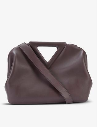 Bottega Veneta The Triangle leather shoulder bag