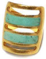 Pamela Love Turquoise Inlay Path Ring