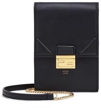 Fendi Kan U Vertical wallet on chain