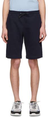 Paul Smith Navy Cotton Shorts