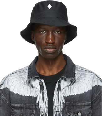 Marcelo Burlon County of Milan Black Starter Black Label Edition Cross Bucket Hat