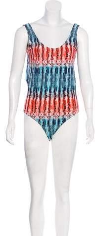 Tart Printed One-Piece Swimsuit