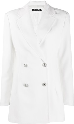 Rotate by Birger Christensen Double-Breasted Blazer Dress