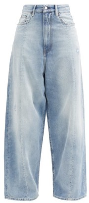 Acne Studios High-rise Washed Wide-leg Jeans - Denim