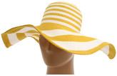 San Diego Hat Company PBX2984 Paperbraid XL Brim Striped Sun Hat