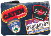 DSQUARED2 Beauty patch clutch