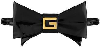 Gucci Logo Bow Tie Choker
