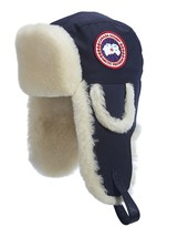Canada Goose Shearling Sheepskin Aviator Hat