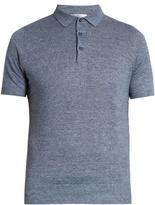 Brunello Cucinelli Linen And Cotton-blend Polo Shirt
